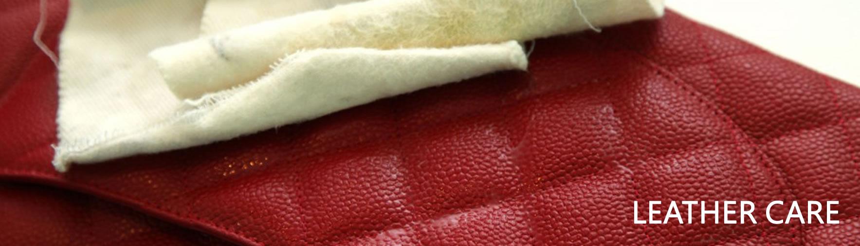 Leather Care 皮革服務