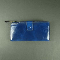 Gussie Wallet Blue | Butterfield
