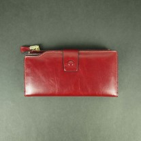Gussie Wallet Red | Butterfield