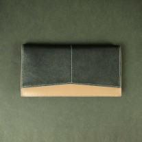Haken Long Wallet Black | Butterfield