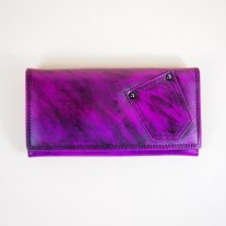 Lola Wallet Purple | Butterfield