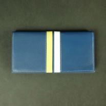 Vern Long Wallet Blue | Butterfield