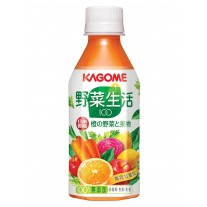 Kagome Carrot Juice Mixed Fruits & Vegetables 甘筍混合汁(280毫升)