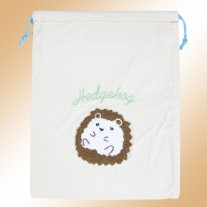 Hedgehog Misc Canvas Bag | LotusTing