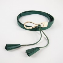 Effe Dress Belt Green   Modern Heritage