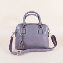 Nikki Top Handle Purple | Modern Heritage