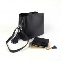 Sheryl Shoulder Bag Black | Modern Heritage