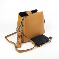 Sheryl Shoulder Bag Brown | Modern Heritage