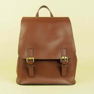 Abijah Backpack Reddish Brown | Butterfield