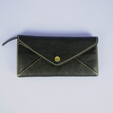 Bree Wallet Black | LotusTing