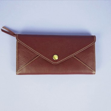 Bree Wallet Red Wine | LotusTing