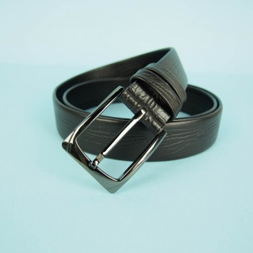 Reed Belt Dark Brown | ButterField