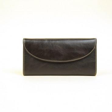 Veata Wallet Dark Brown | Butterfield