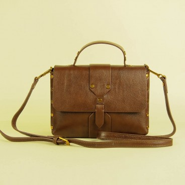 Yaffa Crossbody Brown | Modern Heritage
