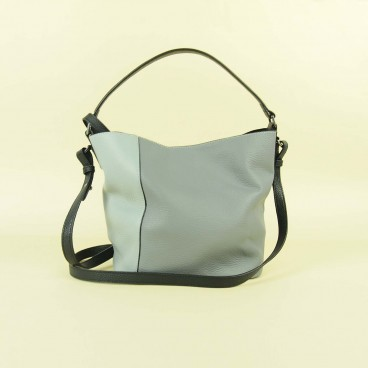 Tavia Hobo Grey/Blue | Urban Forest