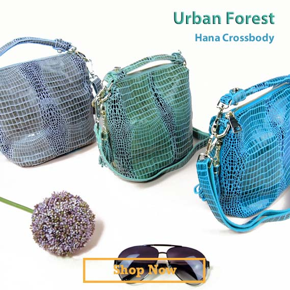 Iconic Urban Forest Hana Handbags Series at LotusTing.Com