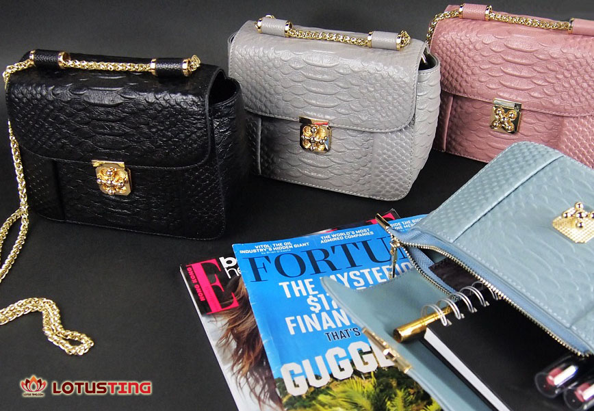 Buying tips for genuine leather handbags at Lotusting eShop