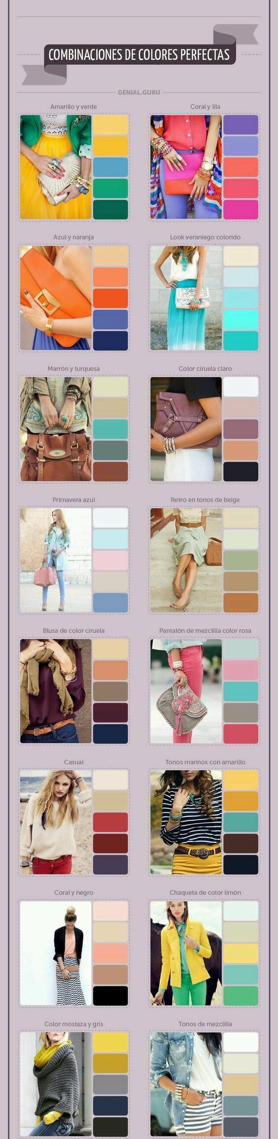 How you color mix match your handbag
