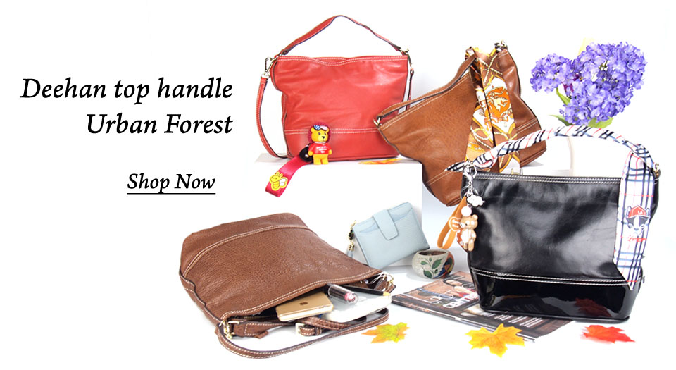 Gorgeous Urban Forest Deehan Top Handle Handbags