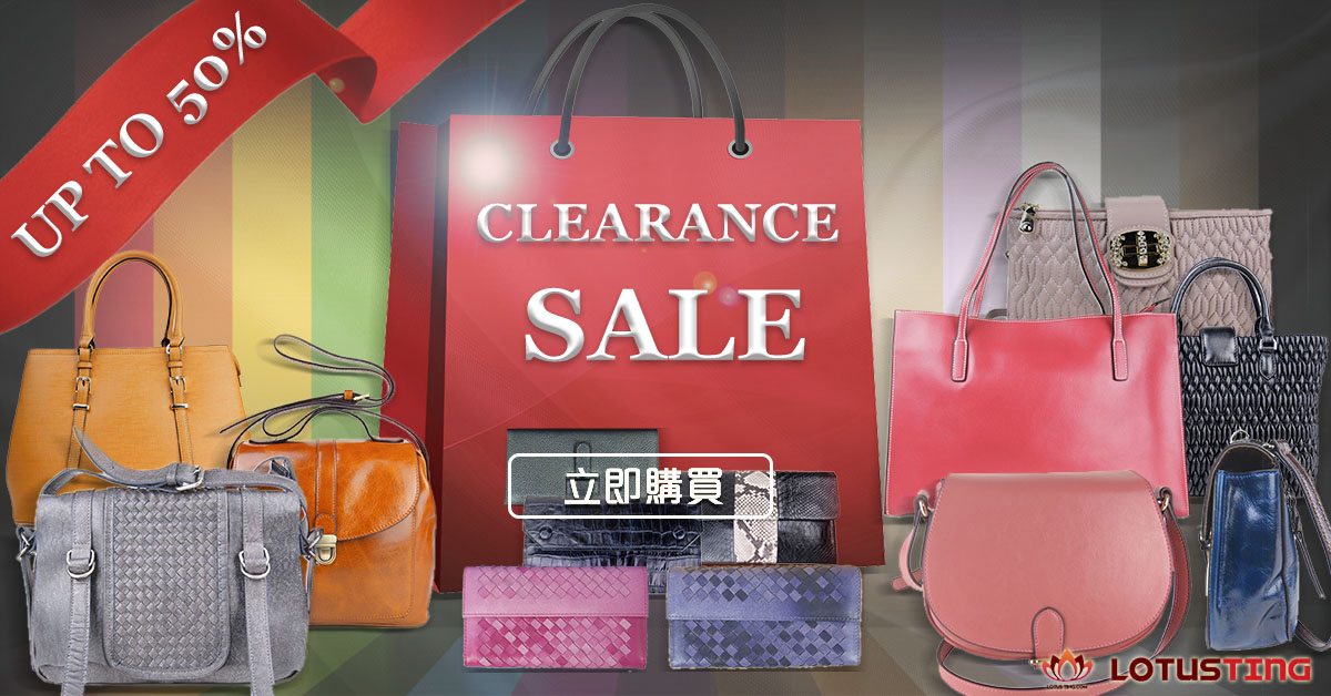Fabulous Clearance Sale is on for Selected Leather Bags and Accessories - Lotusting.com