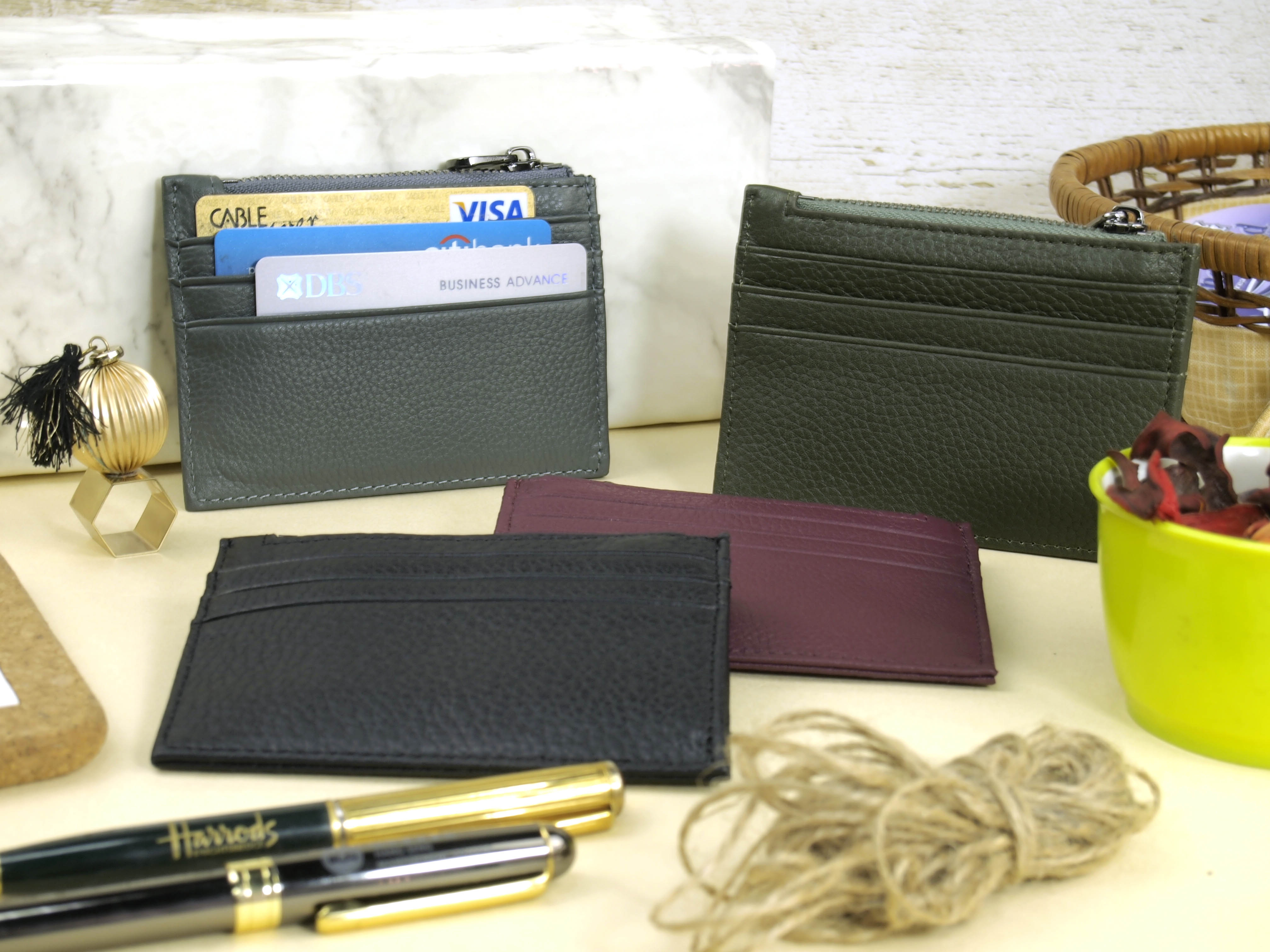 Addis Slim Card Holder  Group View