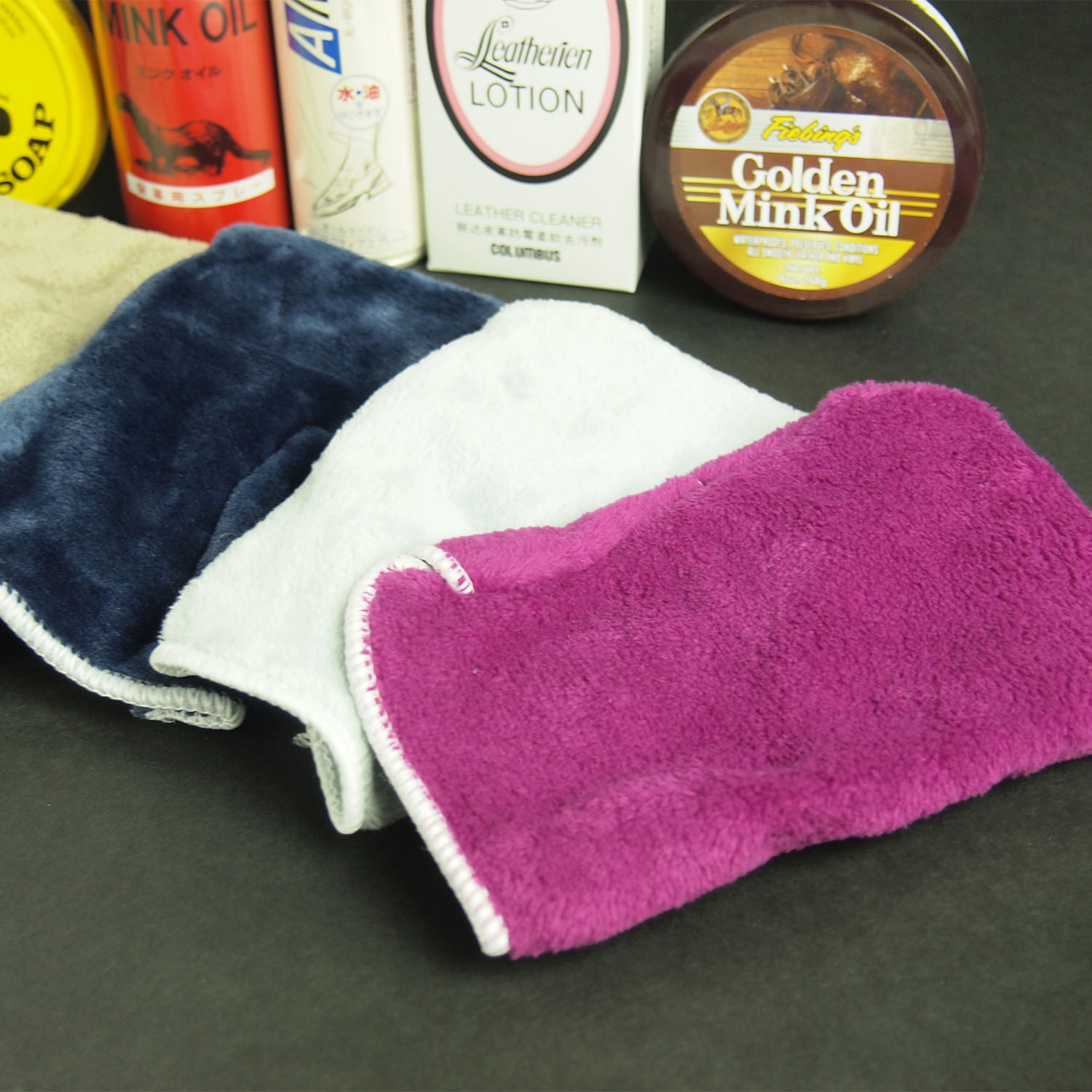 Free Leather Cleaning Glove For Set