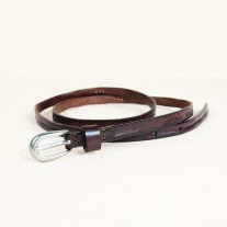 Irene Belt Dark Brown | ButterField