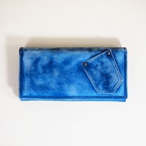 Lola Wallet Blue   Butterfield
