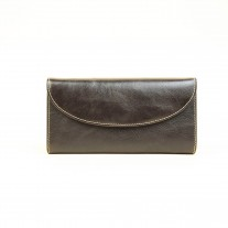 Veata Wallet Dark Brown | Butterfield