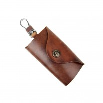 Mavy Dark Brown Key Case | ButterField