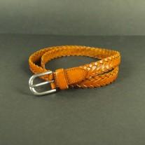 Maera Woven Belt Brown   LotusTing