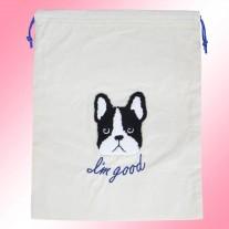 Bulldog Misc Canvas Bag | LotusTing