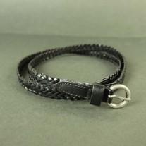 Rubie Woven Belt Black | LotusTing