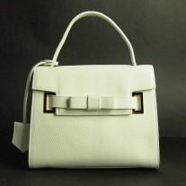 Augie Top Handle White | Modern Heritage