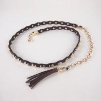 Freda Dress Belt Dark Brown | Modern Heritage