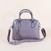 Nikki Top Handle Purple | Modern Heritage