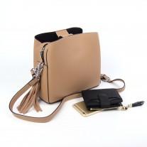 Sheryl Shoulder Bag Beige | Modern Heritage