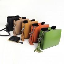 Sheryl Shoulder Bag Orange   Modern Heritage