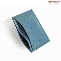 Pasha Slim Card Holder Blue l MIAJEES