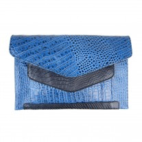 Shell Blue Clutch | Urban Forest