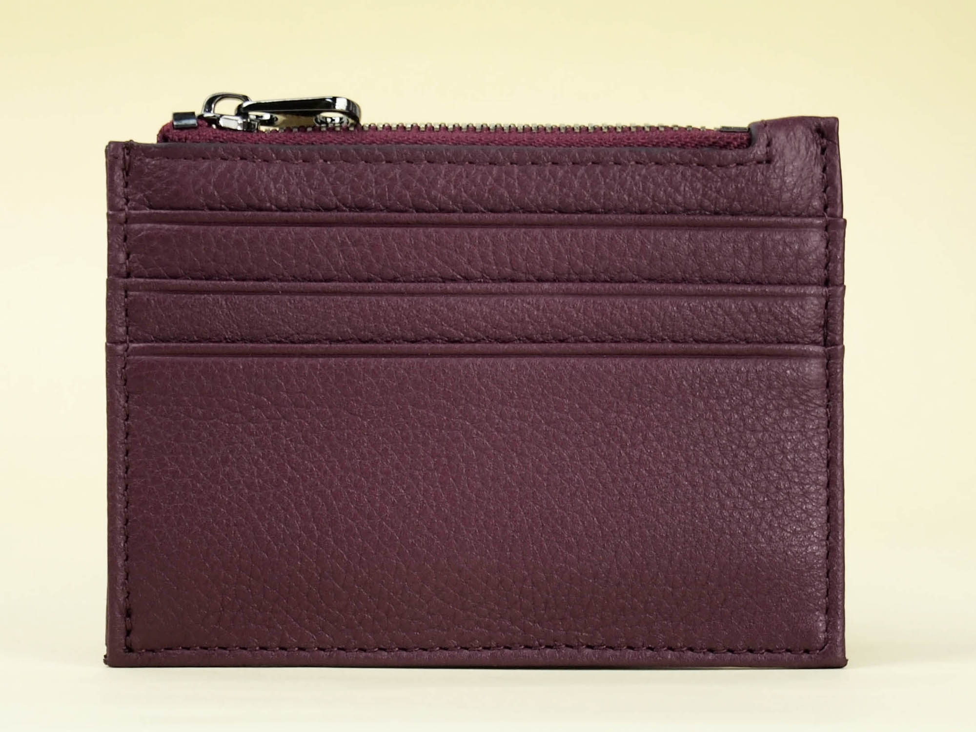 Addis Slim Card Holder Front View