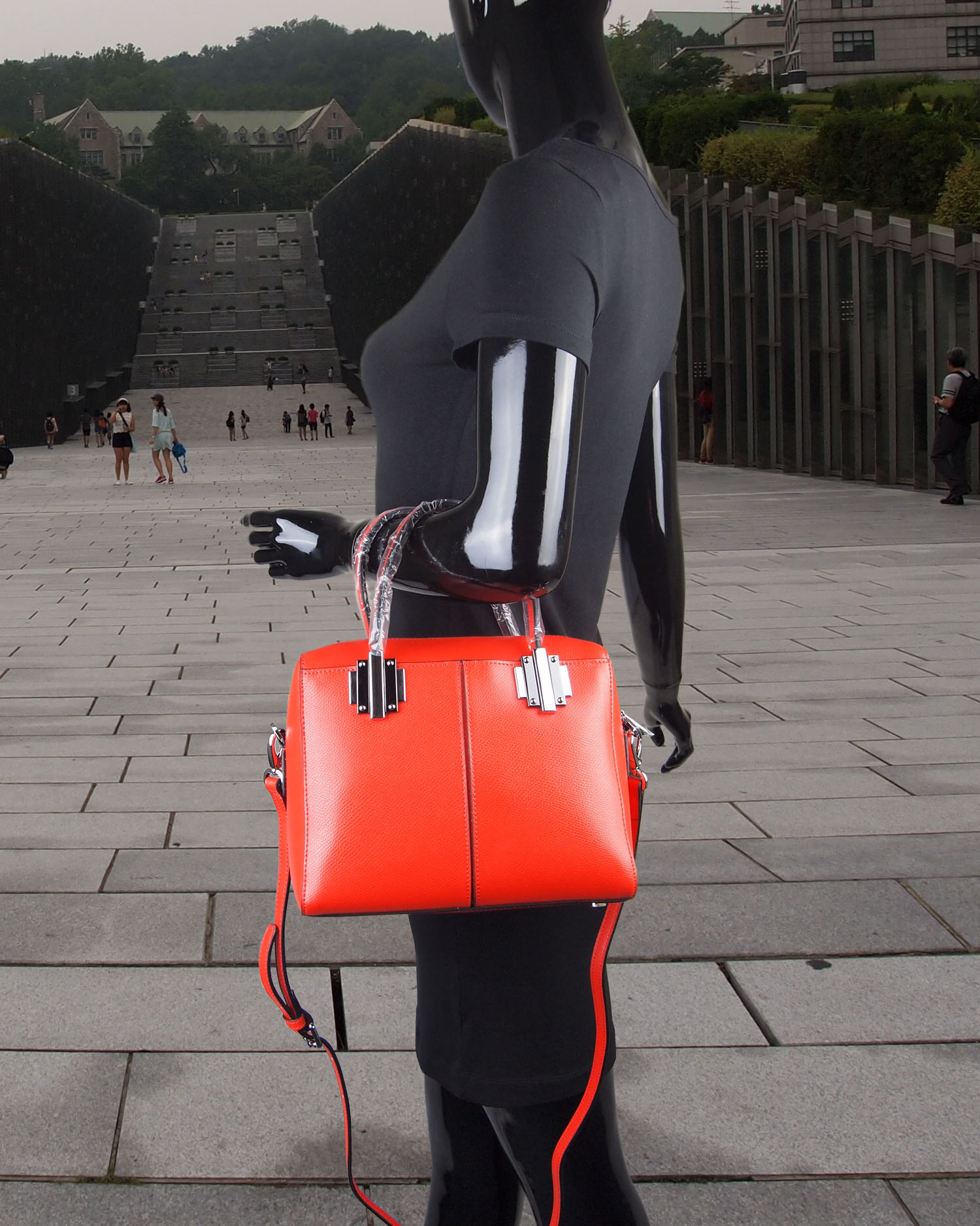 Magnificent Modern Heritage Shela Crossbody Hand Carry