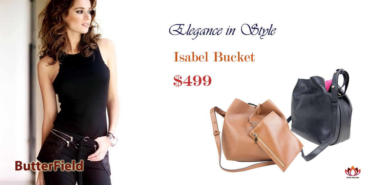 Stylish Butterfield Isabel Bucket at Lotusting eShop