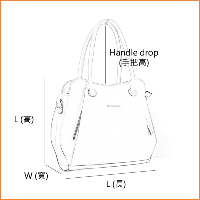 Handbag Measurement Method